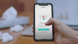 APP de videollamada conecta de manera instantánea al paciente con un médico especialista