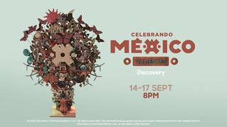 """Discovery tiene programación de """"Celebrando México"""""""