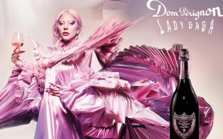 Lady Gaga y Dom Pérignon, por una absoluta libertad creativa