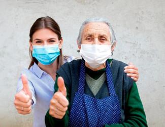 En invierno, cuidemos a adultos mayores del COVID-19