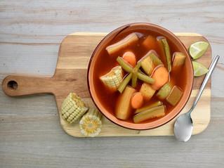 Mole de olla, delicioso platillo de la milpa a la mesa