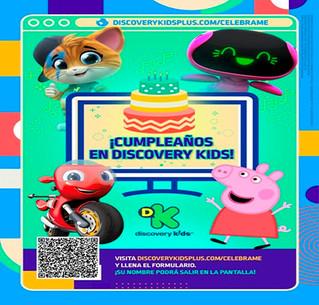 Festeja el cumpleaños virtual de DISCOVERY KIDS!