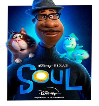 Disney + presenta un nuevo tráiler y póstr de Soul