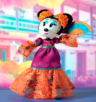 Minnie Catrina rinde homenaje a la cultura mexicana