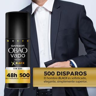 Lo mejor de dos mundos, fragancia y protección en un desodorante OBAO VAPO BODY SPRAY