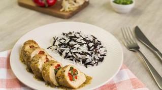 Renueva tu menú en casa con un delicioso Rollo de pechuga oriental