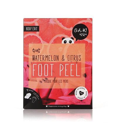 Oh K! Watermelon Pink Foot Peel