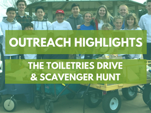 Outreach Highlights: Toiletries Month