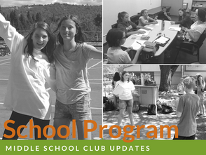 Program Updates: Middle School Clubs