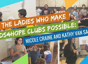 Meet the Staff Behind Hands4Hope Clubs: Nicole Craine & Kathy Van Saun