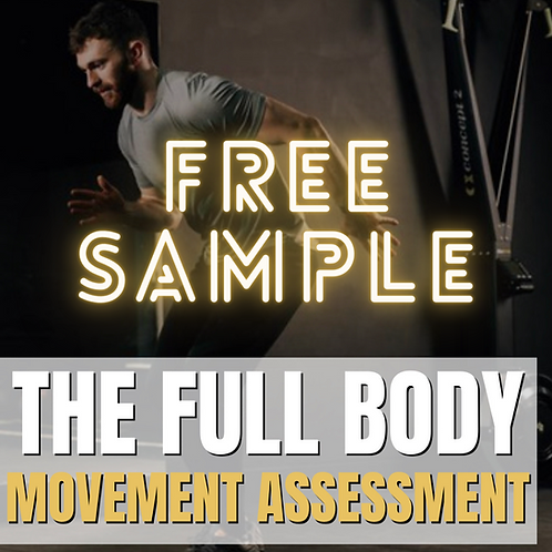 FREE SAMPLE  of The Movement Assessment