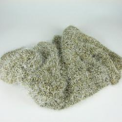 Gold wool crop top
