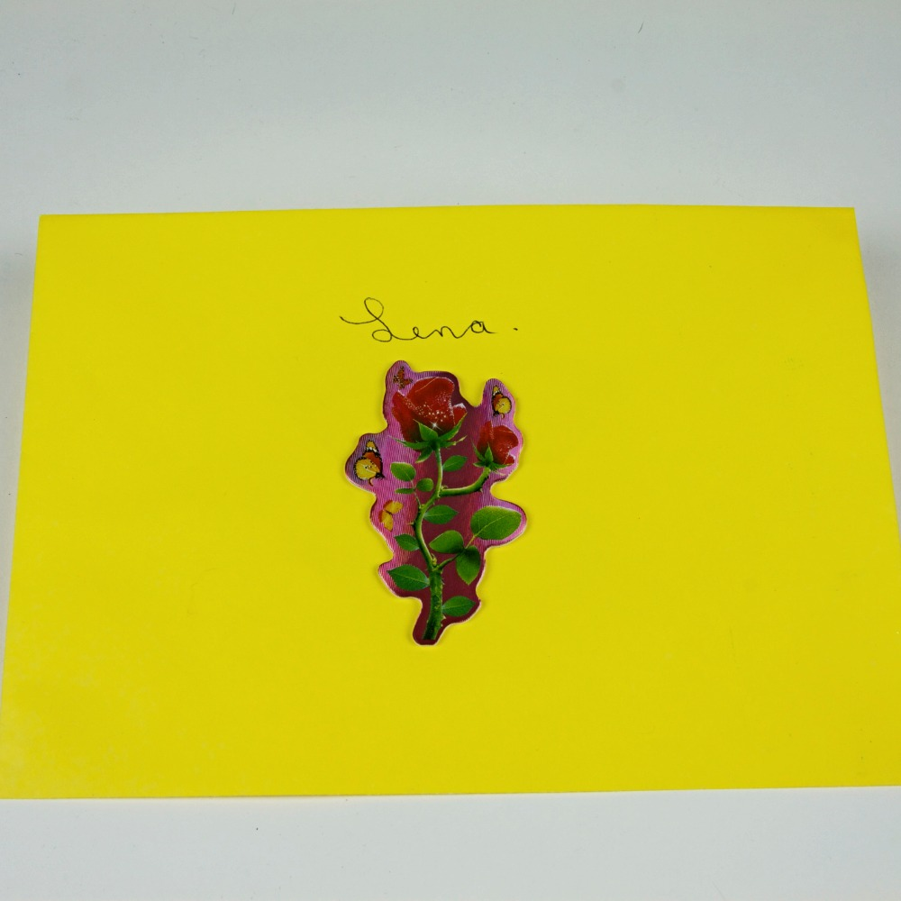 Decorated envelope