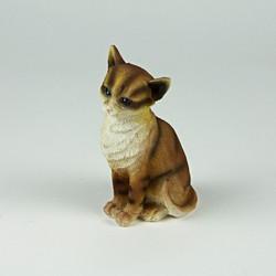 Ceramic cat ornament