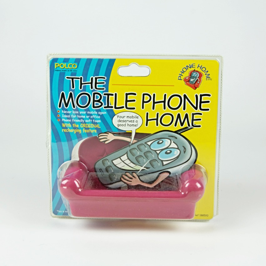 Mobile phone sofa holder pink