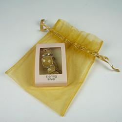 Yellow gem bracelet