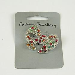Bow sparkle brooch