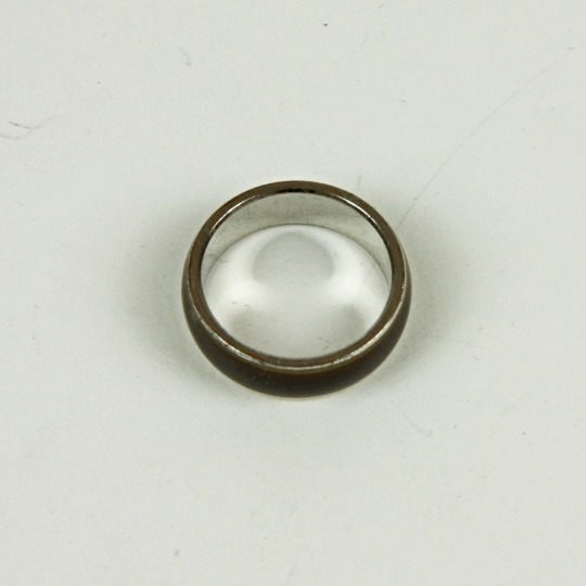 Cut glass ring
