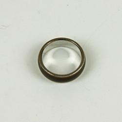 Cut glass ring