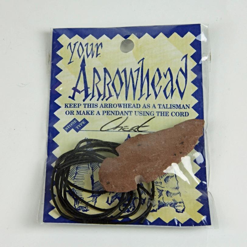 Arrowhead rope necklace