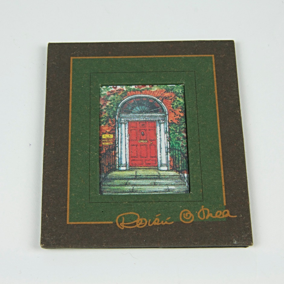 Dublin door reproduction framed