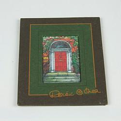 Dublin door reproduction framed