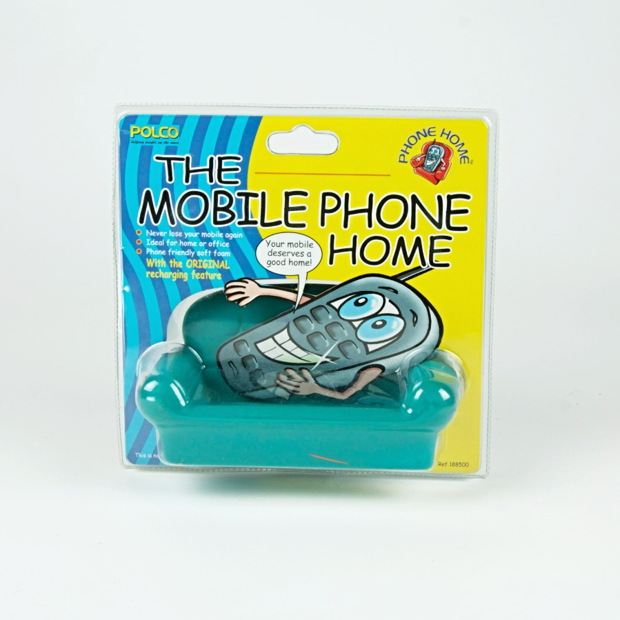 Mobile phone sofa holder blue