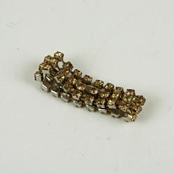 Beaded glitter ring