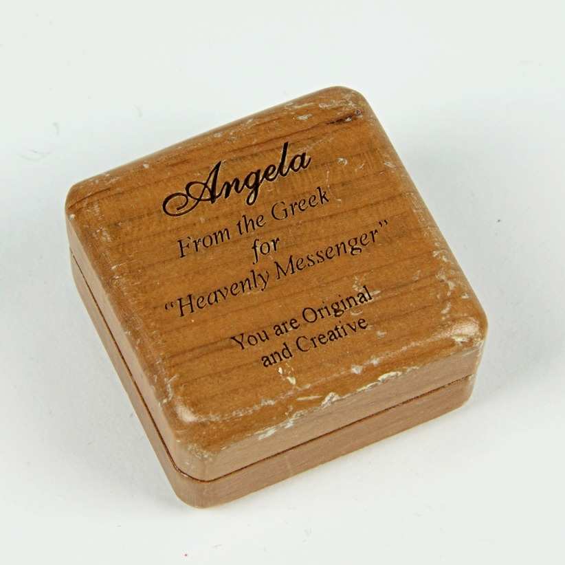 Name mini wooden box