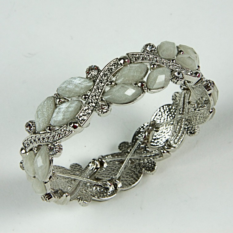 Diamante beaded bracelet