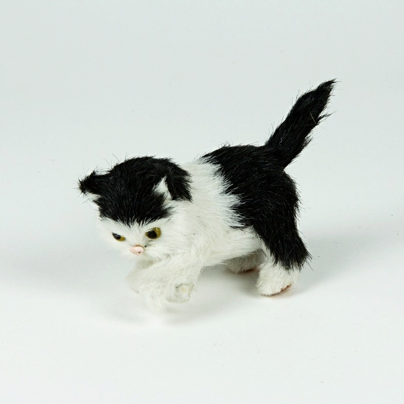 Playful cat soft toy