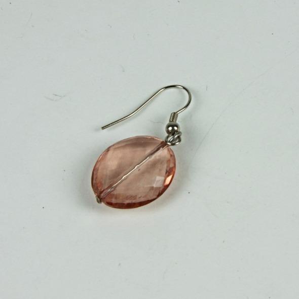 Beaded drop earring