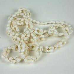 mini shell extra long necklace