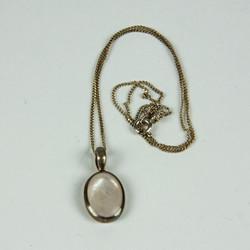 Drop Jewel pendant necklace