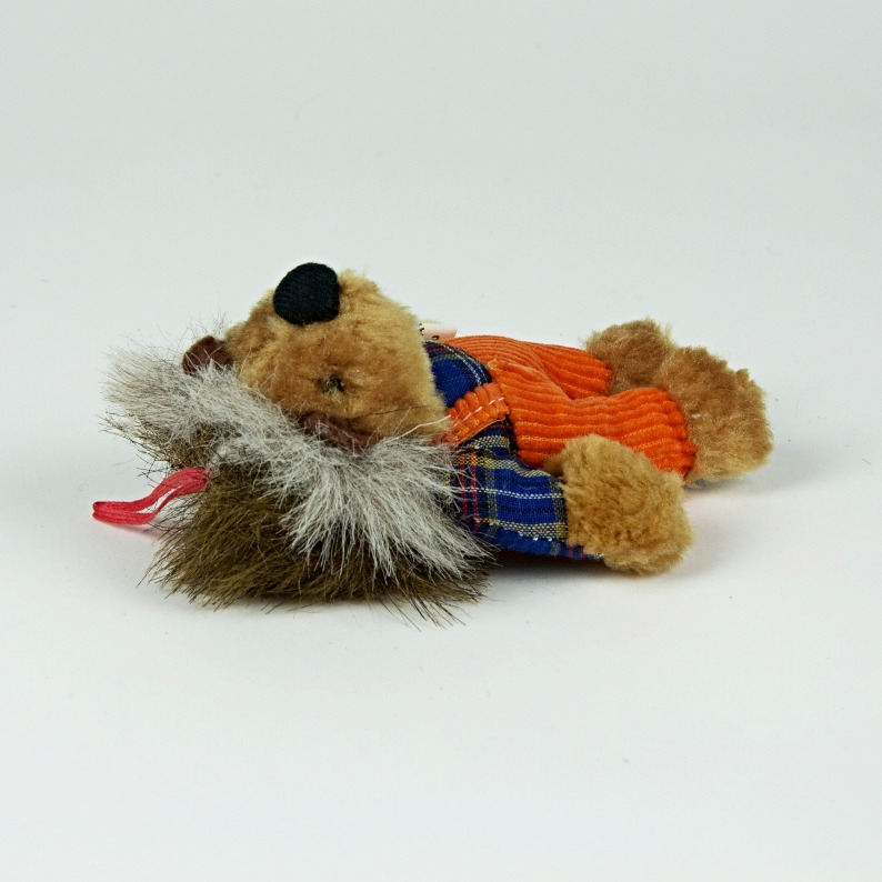 anthropomorphised hedgehog toy