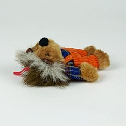 anthropomorphised hedgehog toy
