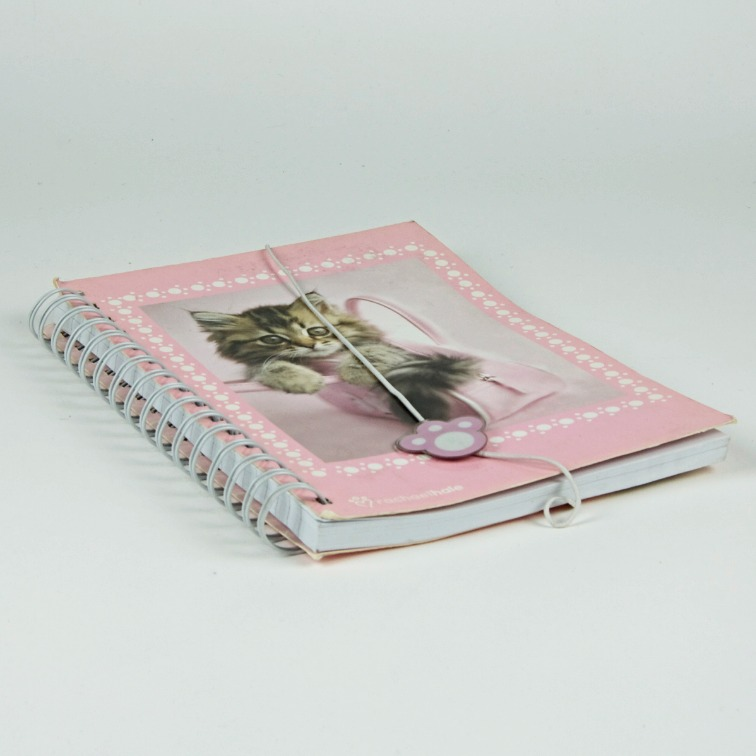 Cat image notebook