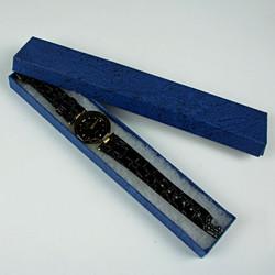 Black diamante watch
