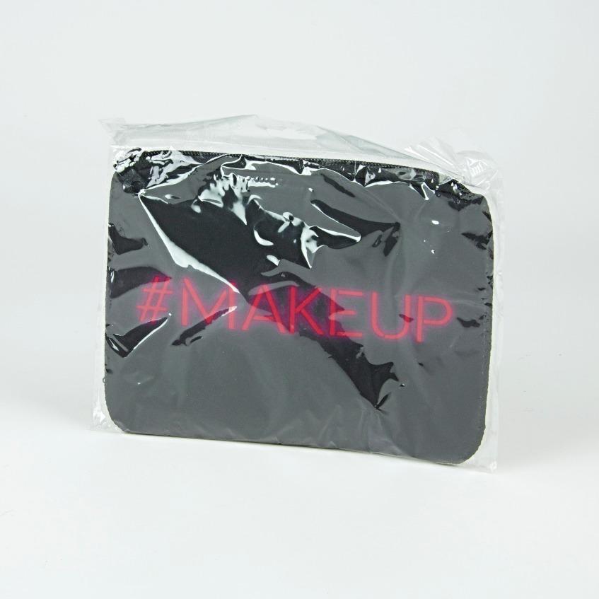 Neoprene cosmetics bag