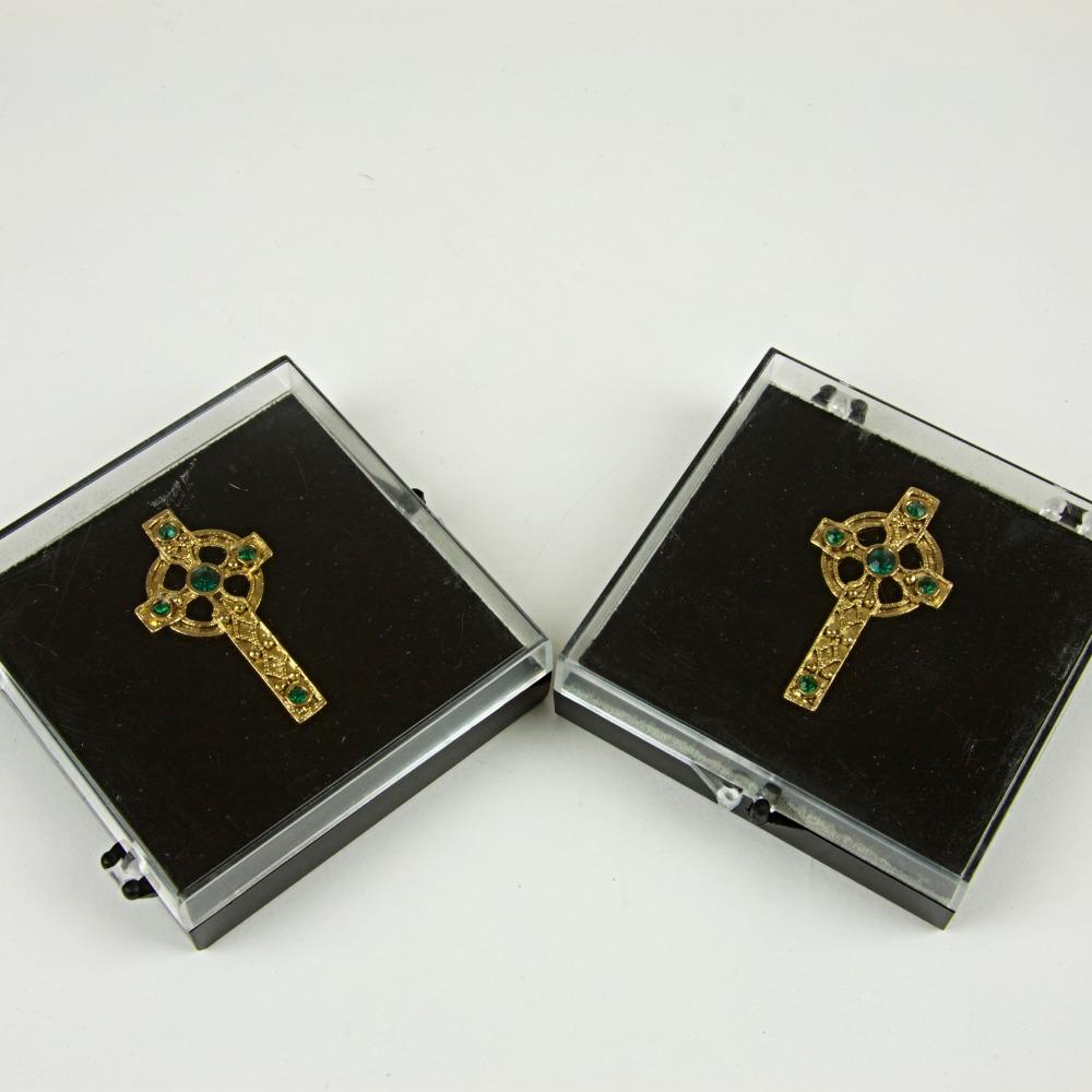 Celtic cross pins