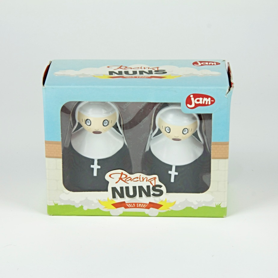 Wind up racing nun game