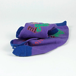 Dice pattern socks