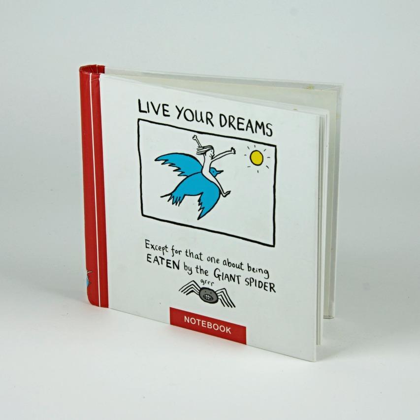Live your dreams book