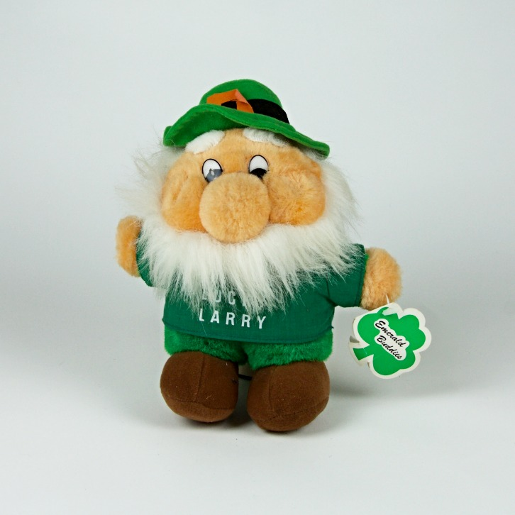 Lucky Larry leprechaun soft toy
