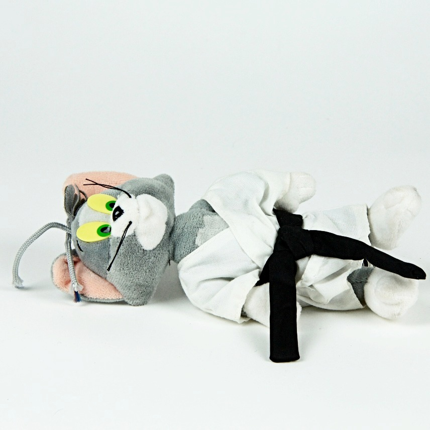 Karate Tom soft toy