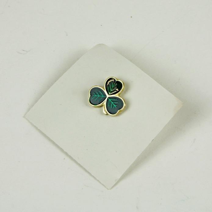 Shamrock pin