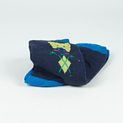Diamond teddy socks