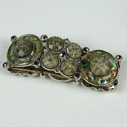 Disc beaded bracelet