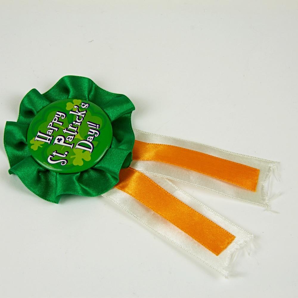 St Patrick's Day badge