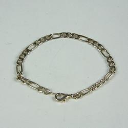 Silver chain bracelet